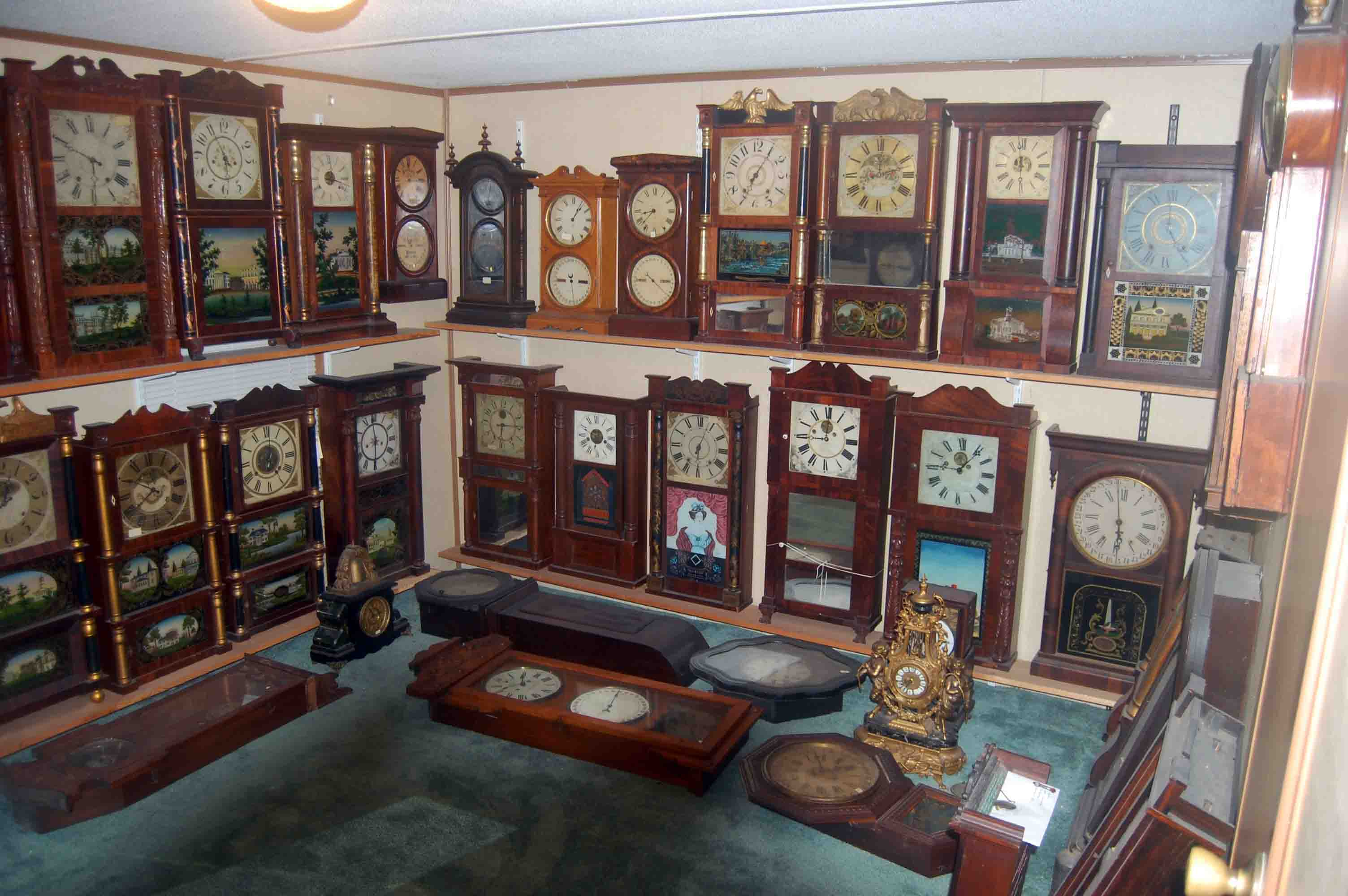 antique grandfather clock repair