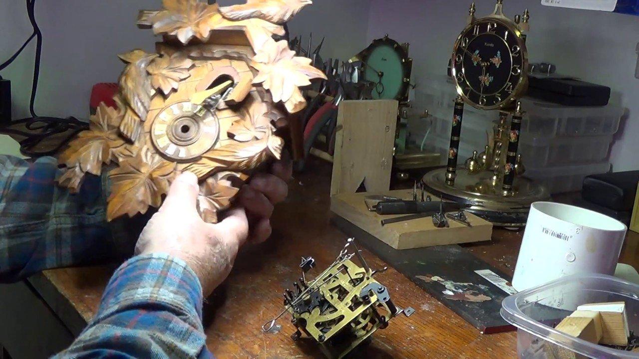 cuckoo clock repair professional